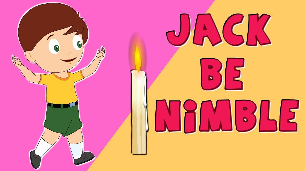 Jack be Nimble   Nursery Rhymes   Ep – 46 by Nursery Rhyme Street ! -  YouTube