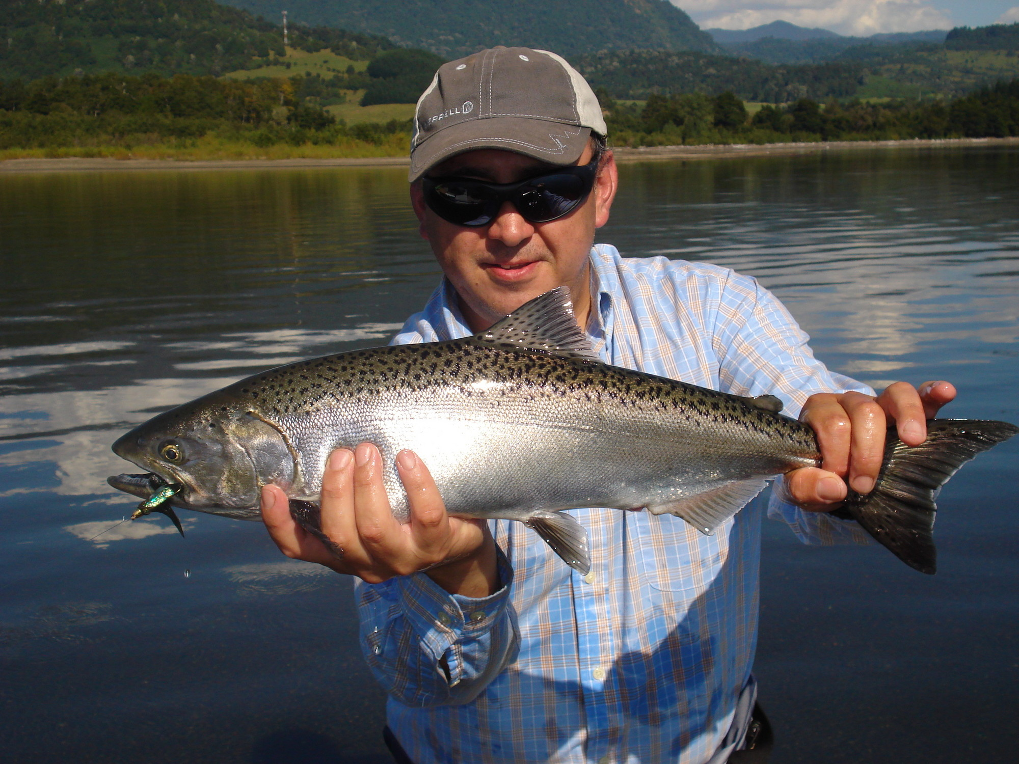 Fly Fishing King (JACK) Salmon in Patagonia Chile - La Vaguada - Flyfishing  | Washington Fly Fishing
