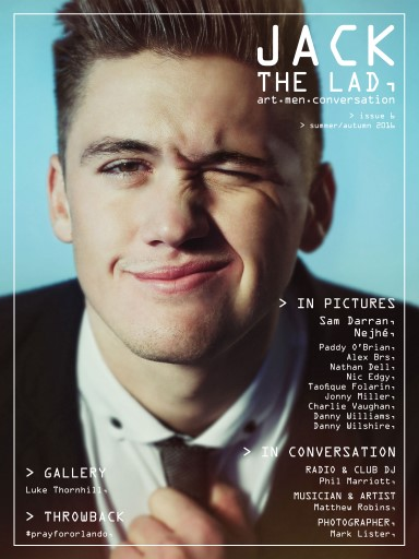 Title Cover Preview Jack The Lad Magazine Preview