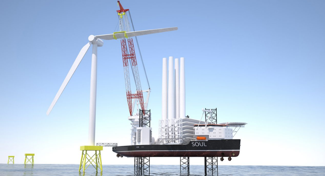 New jack-up vessel moves towards the next level for offshore wind