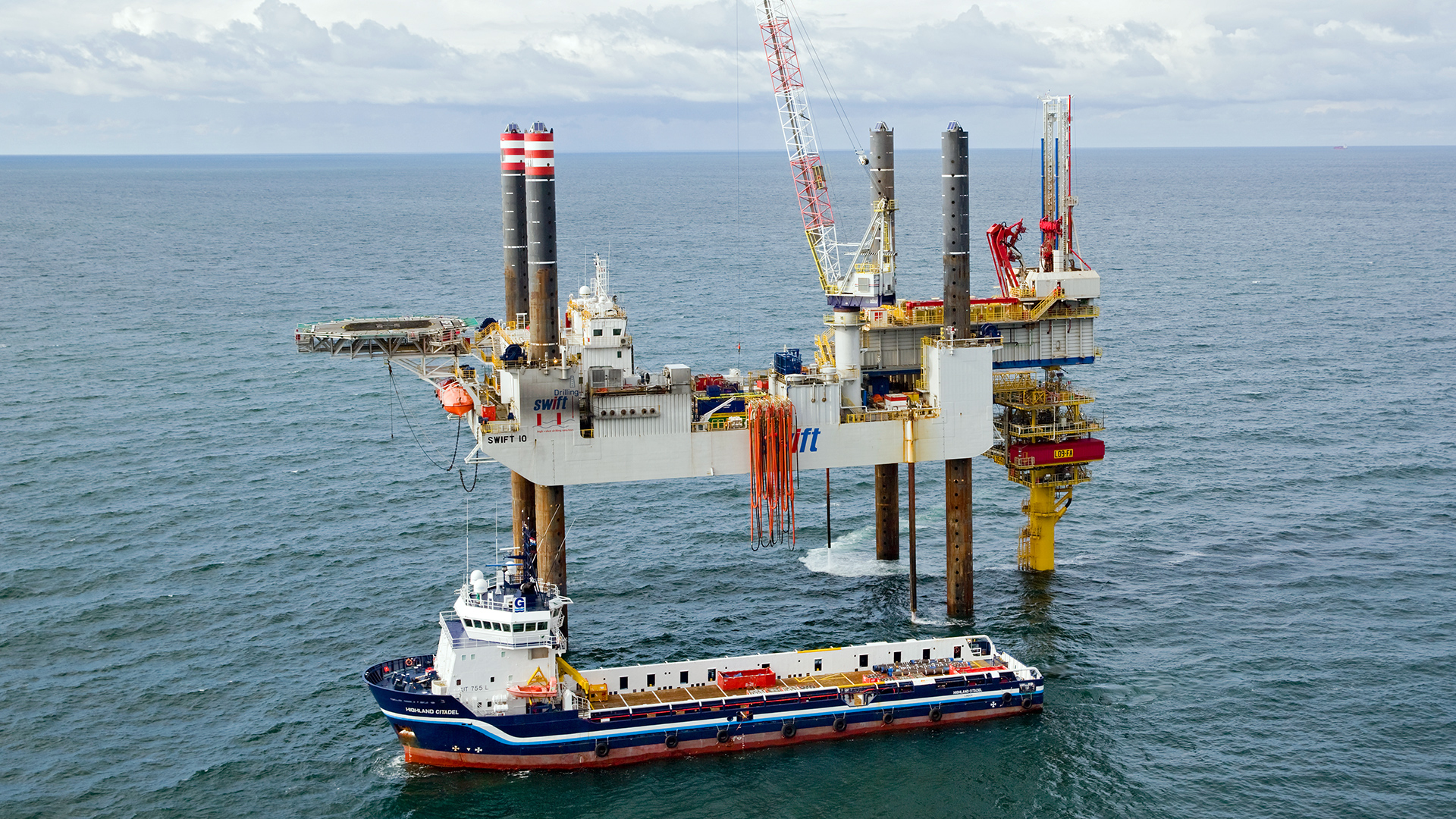 Offshore jack-up operations in the North Sea