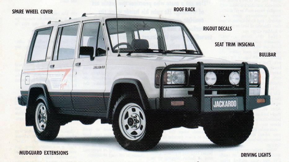 Five star woop woop Weve just discovered the Holden Jackaroo