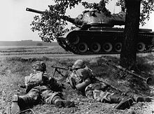 German soldiers 1960 with jackboots M57