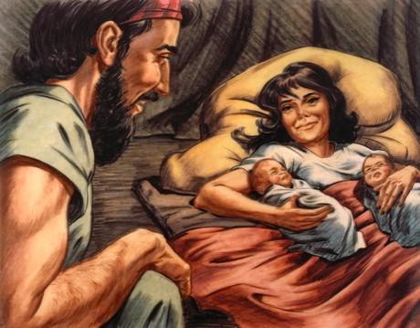 "Jacob and Esau. """