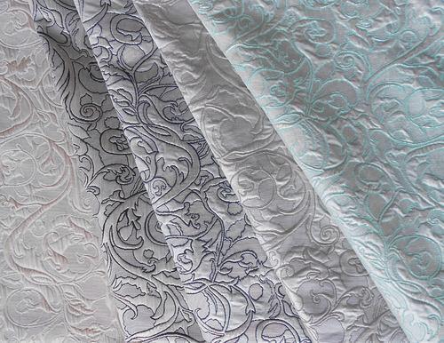 Foil Jacquard Fabric