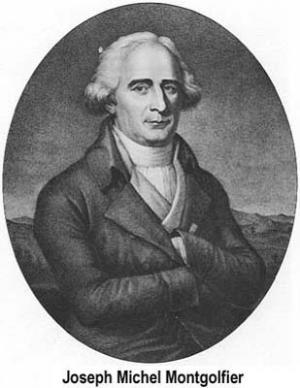 Joseph-Michel Montgolfier Jacques-Etienne Montgolfier