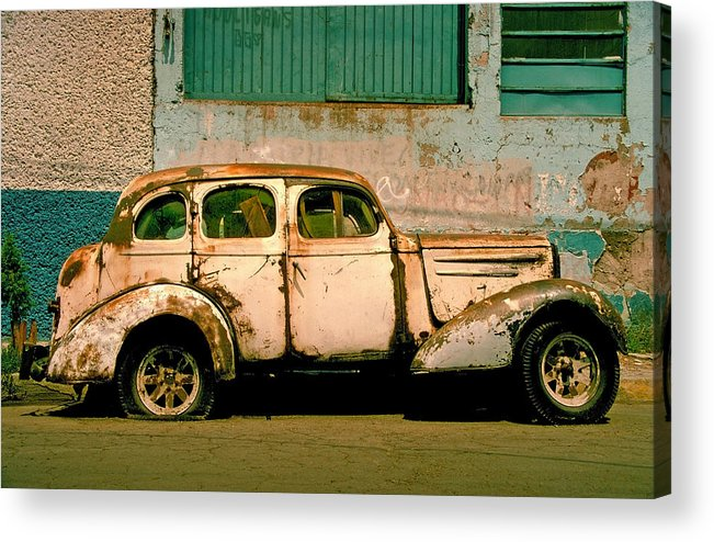Skip Acrylic Print featuring the photograph Jalopy by Skip Hunt