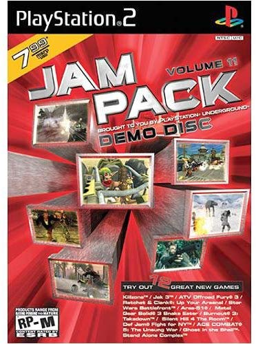 Jampack Demo Disk Volume 11 - PlayStation 2
