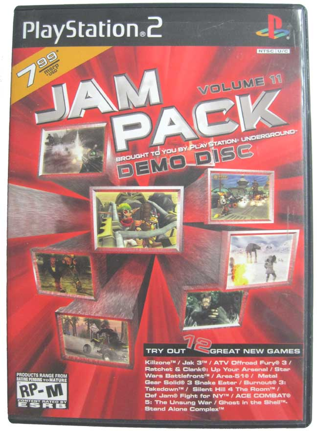 Jam Pack Demo Disc Volume 11