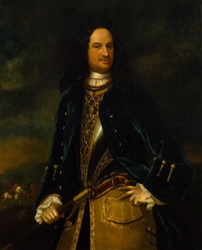 James Stanhope, 1st Earl Stanhope, attributed to Johan van Diest, circa  1718 -
