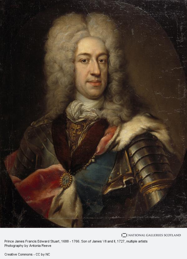 E. Gill, Prince James Francis Edward Stuart, 1688 - 1766. Son of