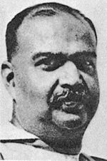 Syama Prasad Mookerjee, founder of the Bharatiya Jana Sangh.
