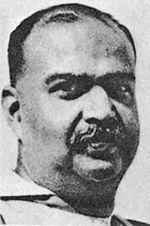 Syama Prasad Mookerjee, founder of the Bharatiya Jana Sangh.