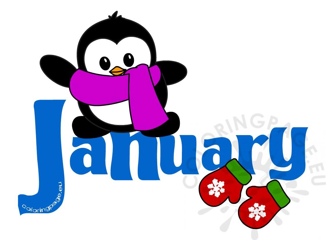 january-clipart