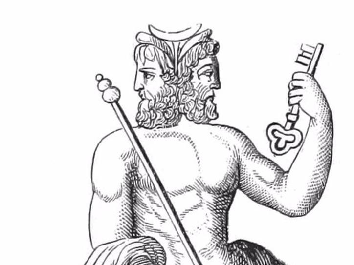 Janus, the God of January