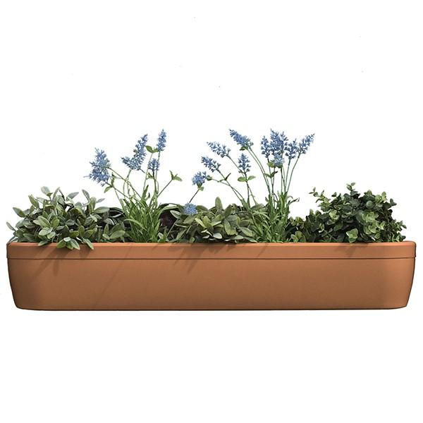 Jardinière pour Rebord de Fenêtre Windowgreen Terracotta Rephorm  Jardinchic