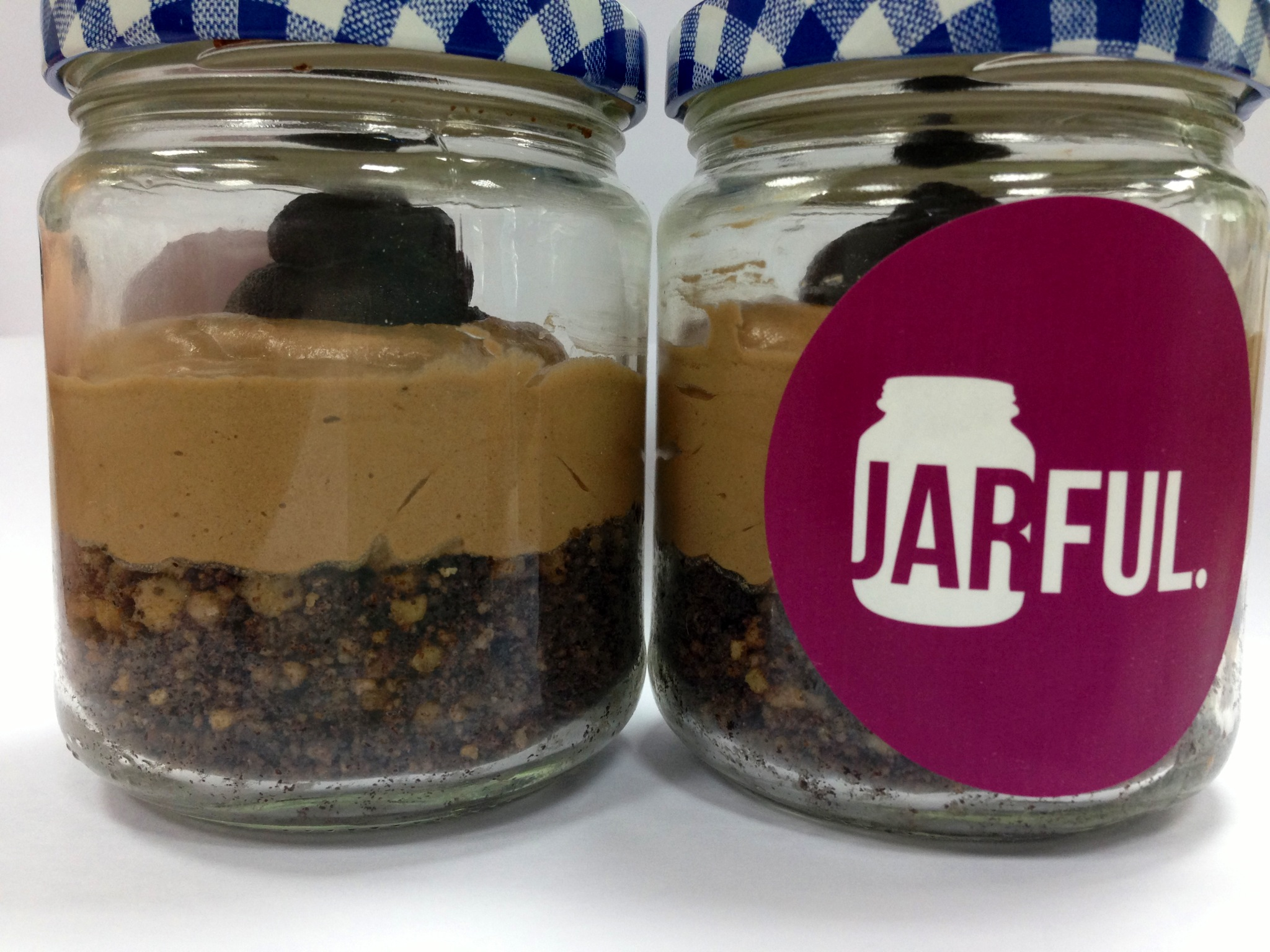 The presentation of the jars are simple and the portions are just-right.  Jarful is perfect for any event, from birthdays to engagement parties.