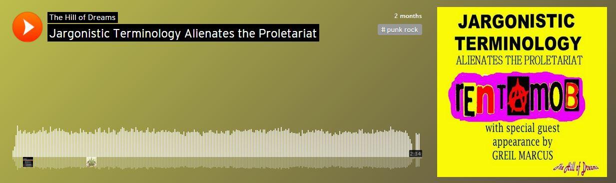 """Jargonistic Terminology Alienates the Proletariat,"" Carlton B. Morgan  feat. Greil Marcus (2015) | Traveller Location"