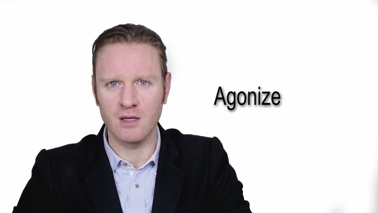 Agonize - Meaning | Pronunciation || Word Wor(l)d - Audio Video Dictionary