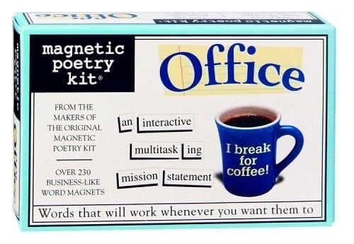 Try this extra jargony office edition.Get the set from Amazon for $12.95.