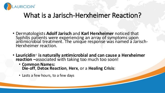3. What is a Jarisch-Herxheimer Reaction?