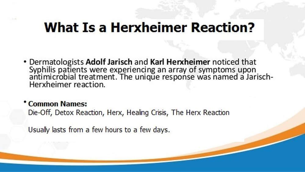 Herxheimer Reaction (Die-Off Reaction)