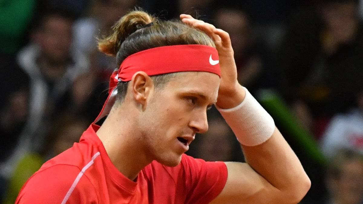 Jarry - Novak (6-4, 3-6, 7-6): resumen y resultado, Copa Davis
