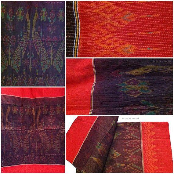 Jaspery Thai Silk: Peacock | 2 yards | MTD02