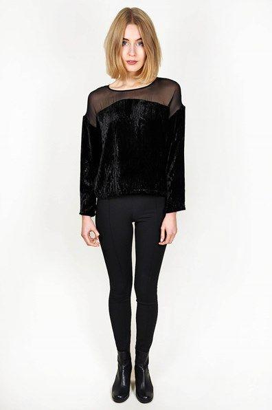 Rodebjer - Jaspery Black Velvet large-1