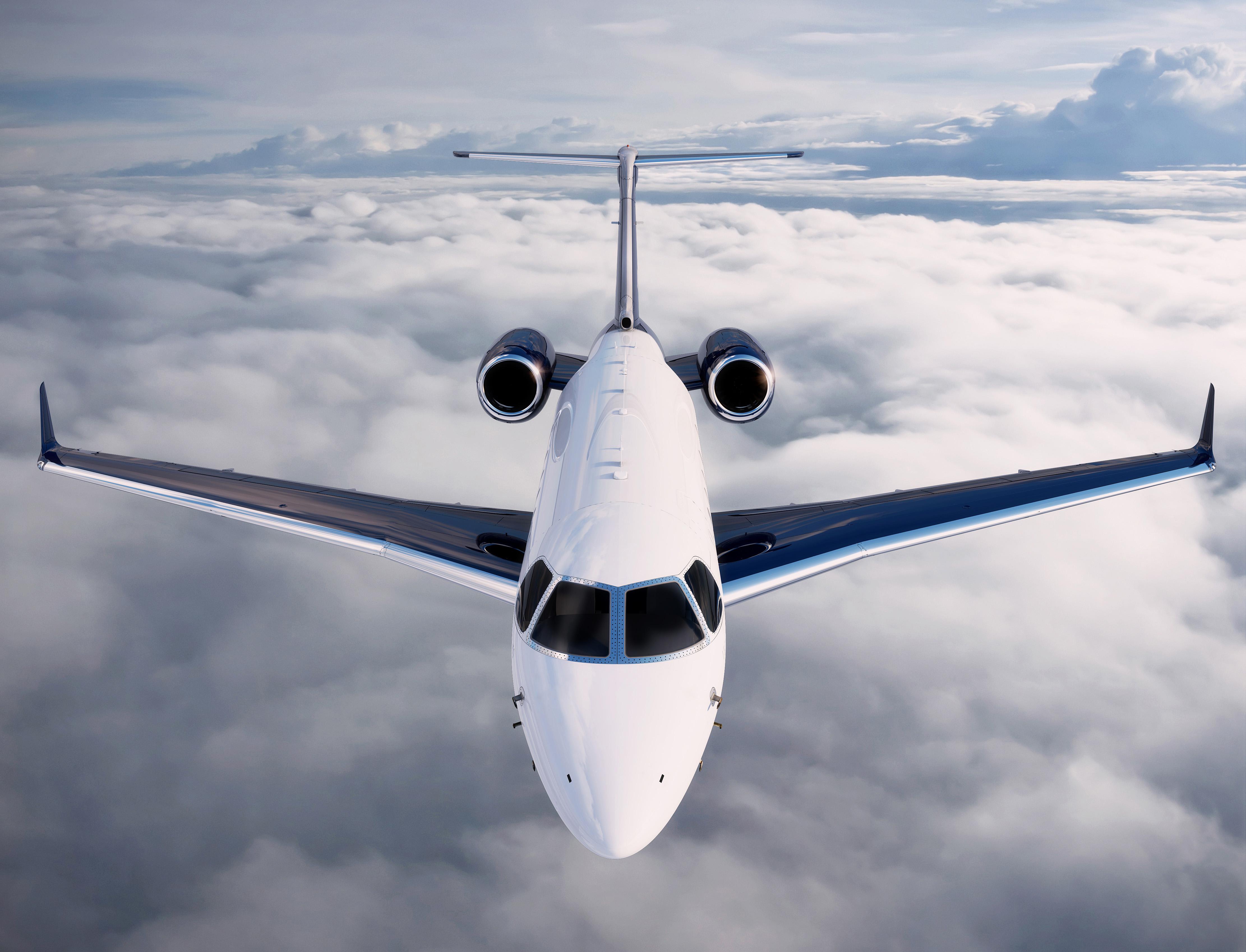 Jato executivo Legacy 450 Embraer (Foto: Divulgação)