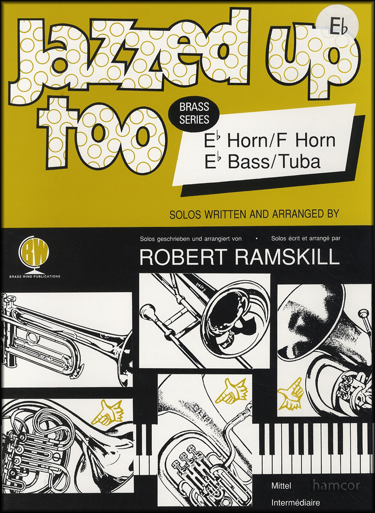 Sentinel Jazzed Up Too Eb Horn & Piano Accompaniment Sheet Music Book