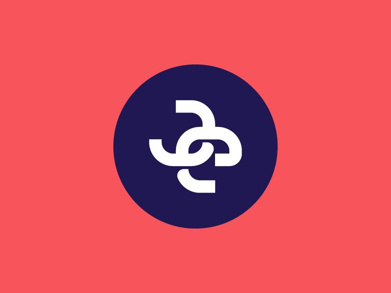 JE Monogram personal je identity logo wordmark typography typo letter  letters monogram