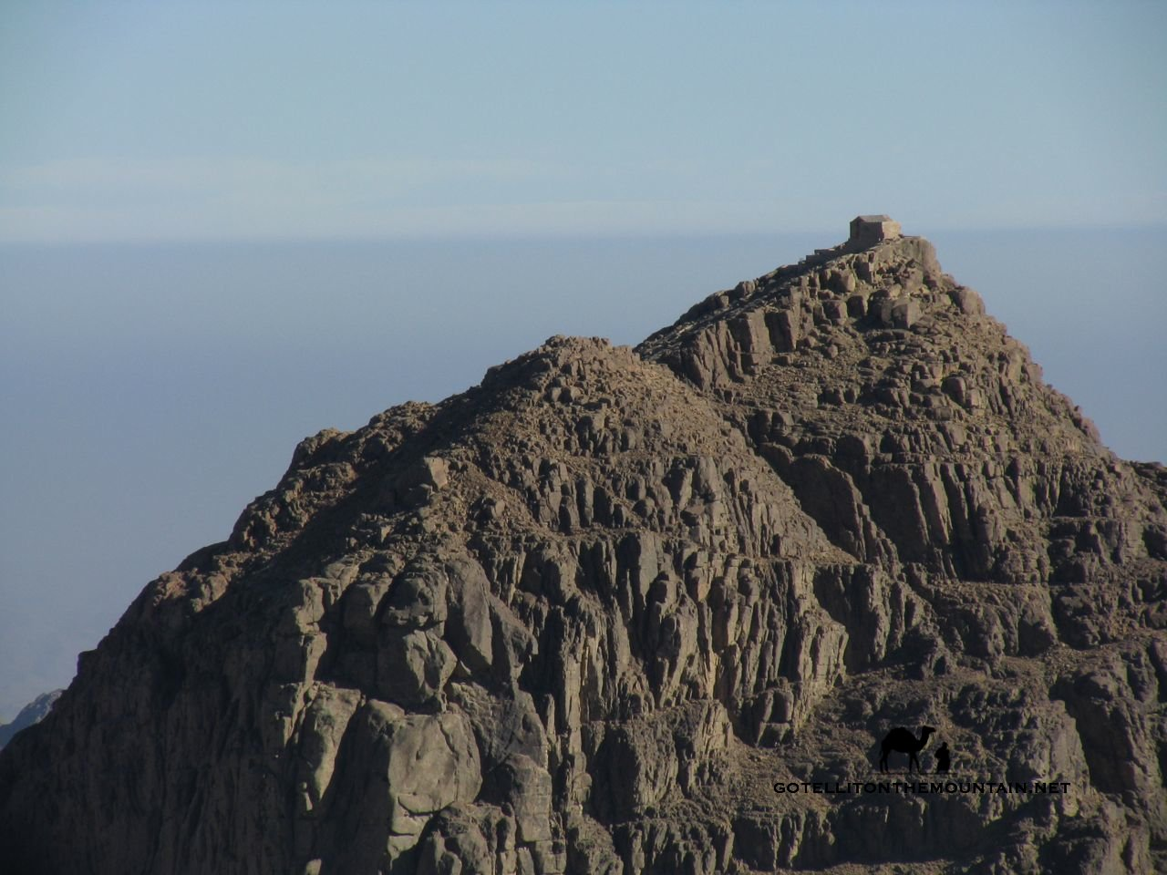 WHERE MOSES HEARD FROM GOD JEBEL MUSA, Summit-chapel_result