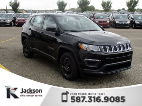 New 2018 Jeep Compass Sport 4x2 - $146 B/W! Sport Utility in Medicine Hate  #5J003 | Knight Automotive Group