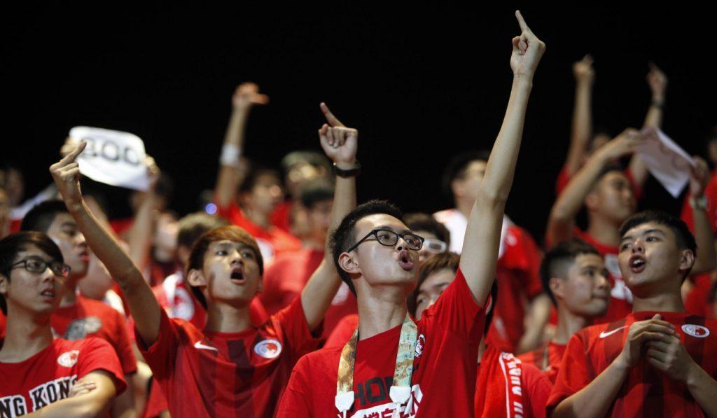 Hong Kong-jeering-fined