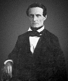 Jefferson Davis around age 39, c. 1847