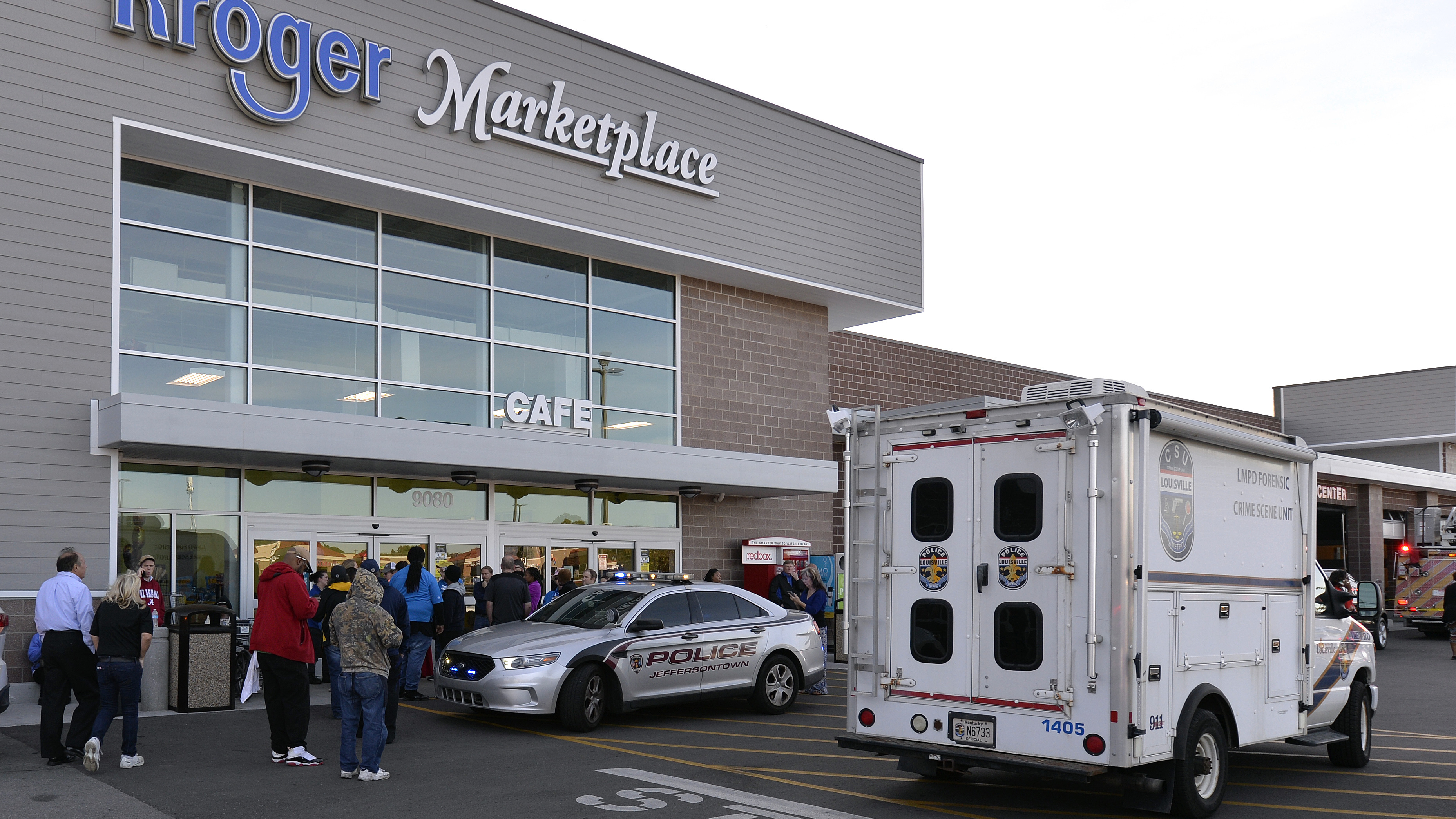 Killing Of 2 At Kentucky Supermarket Is Being Investigated As Hate Crime :  NPR