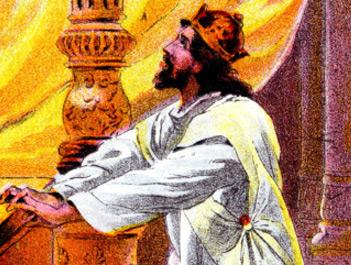 Jehoshaphat praying
