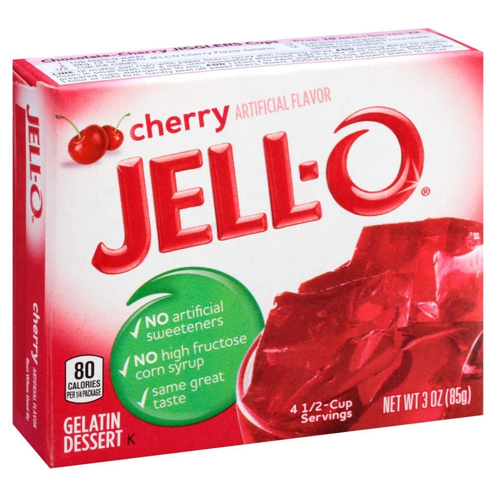 Traveller Location : Jell-O Cherry Gelatin Mix 3 Ounce Box (Pack of 6) : Grocery &  Gourmet Food