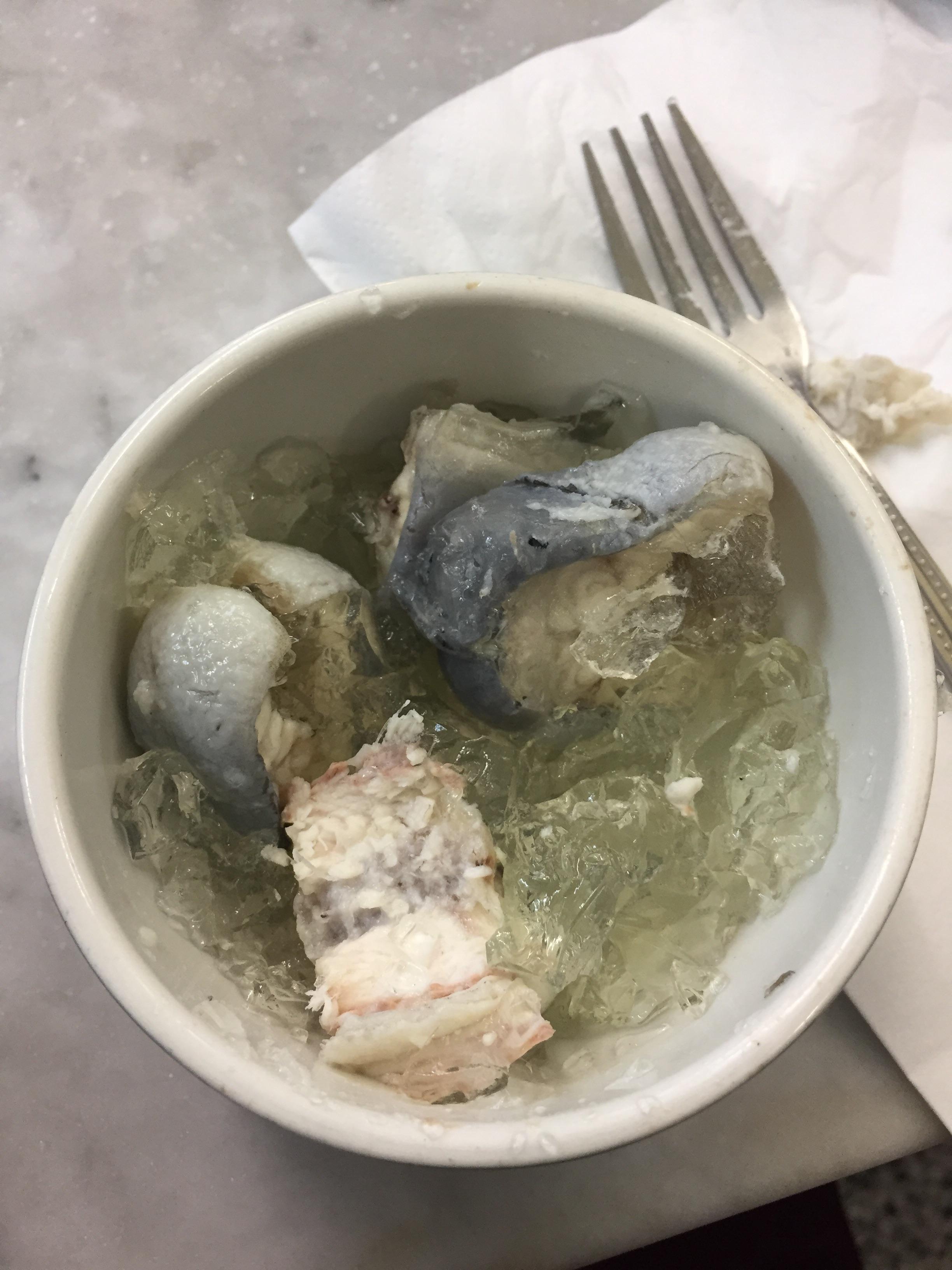 Jellied eel in London