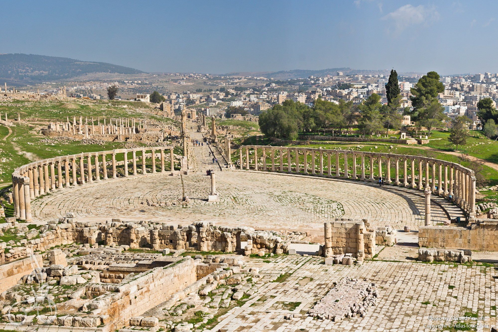 This fascinating city makes a great day-trip from Amman, particularly in  spring, when the wildflowers are in bloom. The drive will take you less  than an