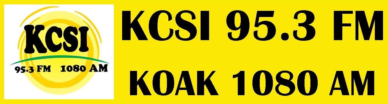 KCSI 95.3 FM   KOAK 1080 AM