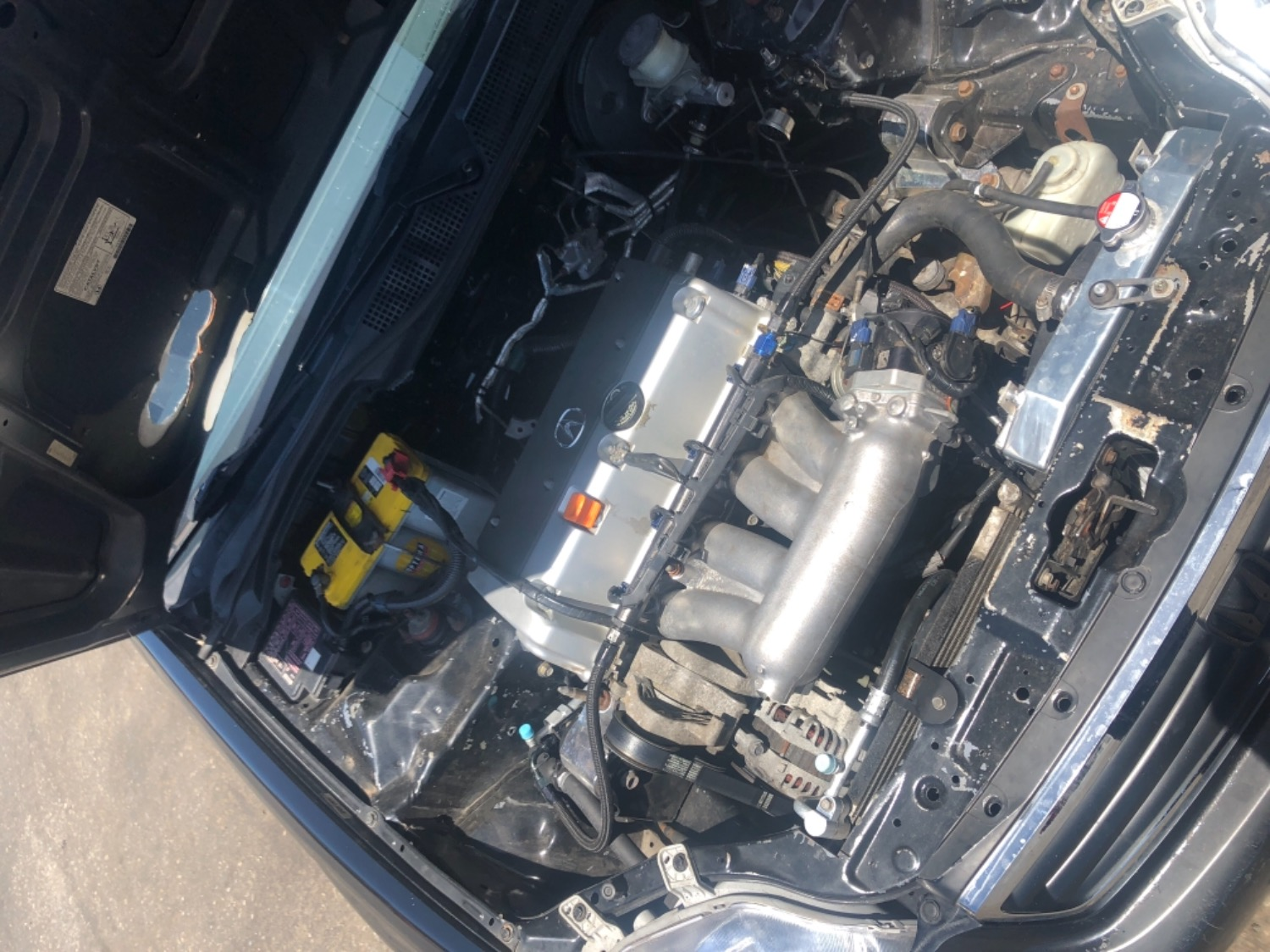 Jeremy G. verified customer review of Hybrid Racing K-Series Swap Air  Conditioning Line