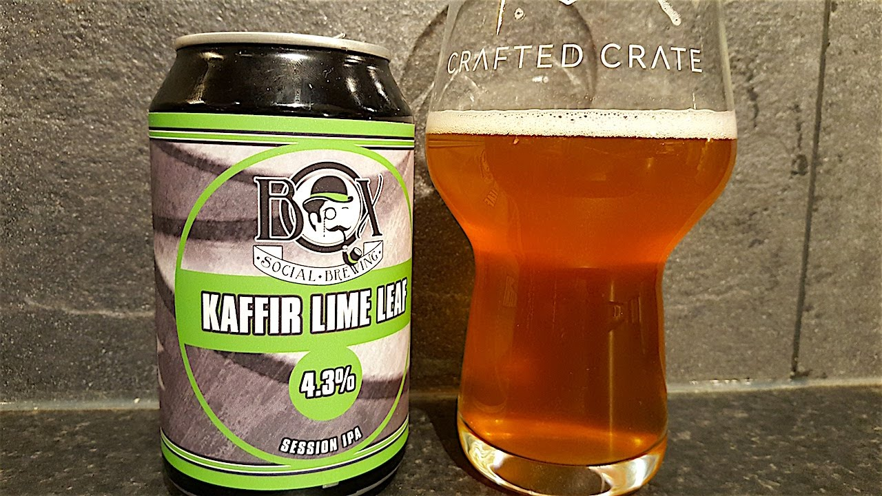 Box Social Kaffir Lime Leaf Session IPA By Box Social Brewing | British  Craft Beer Review