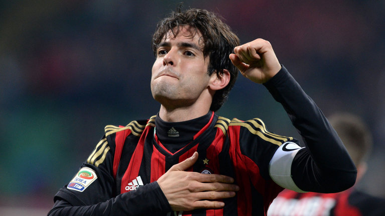Kaka won the Champions League and Serie A with AC Milan