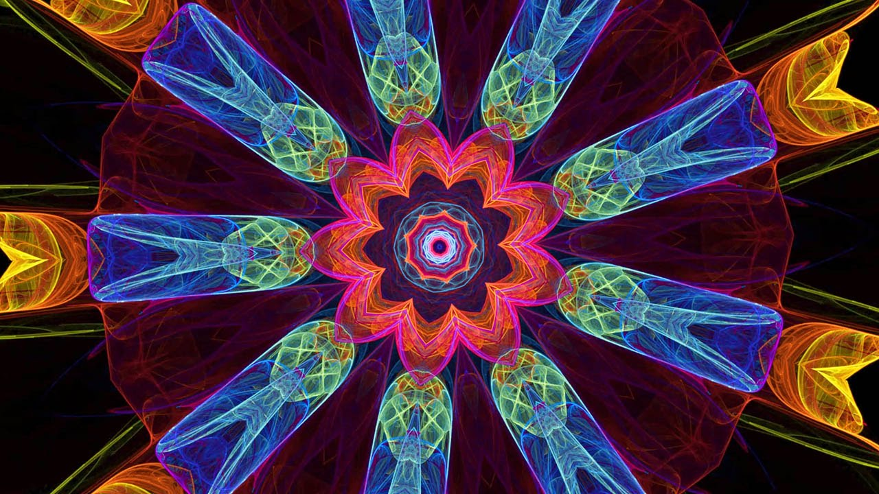 The Splendor of Color Kaleidoscope Video v1.3 1080p (the best of 1.2 at  half speed) - YouTube