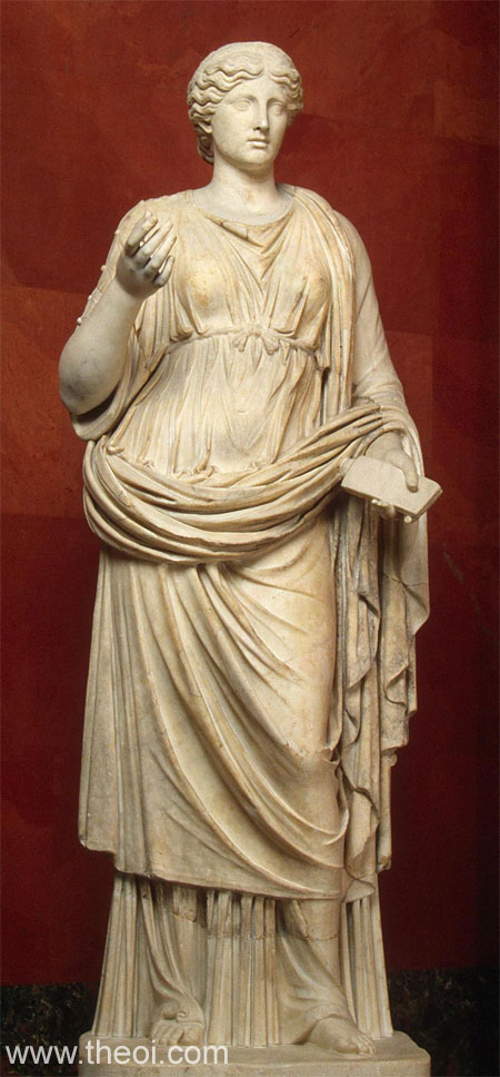 Muse Calliope | Greco-Roman marble statue C2nd A.D. | State Hermitage  Museum, Saint