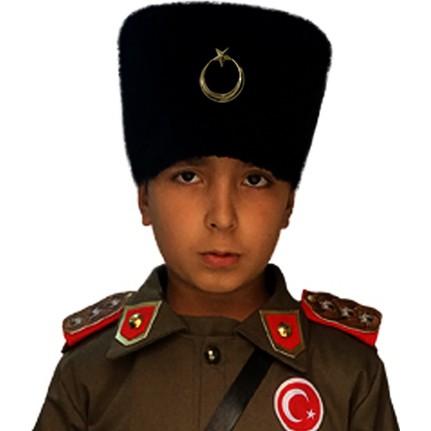 Kostümce Kalpak / Atatürk Kalpak Çocuk. ‹ ›