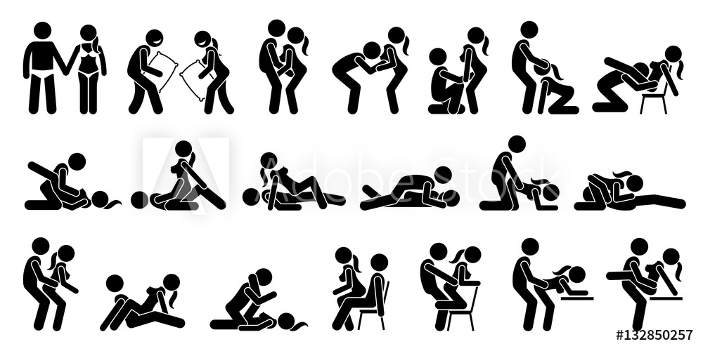 Fotografía Sexual Positions, Kama Sutra or Kamasutra, and Erotic Foreplay.  | Europosters.es