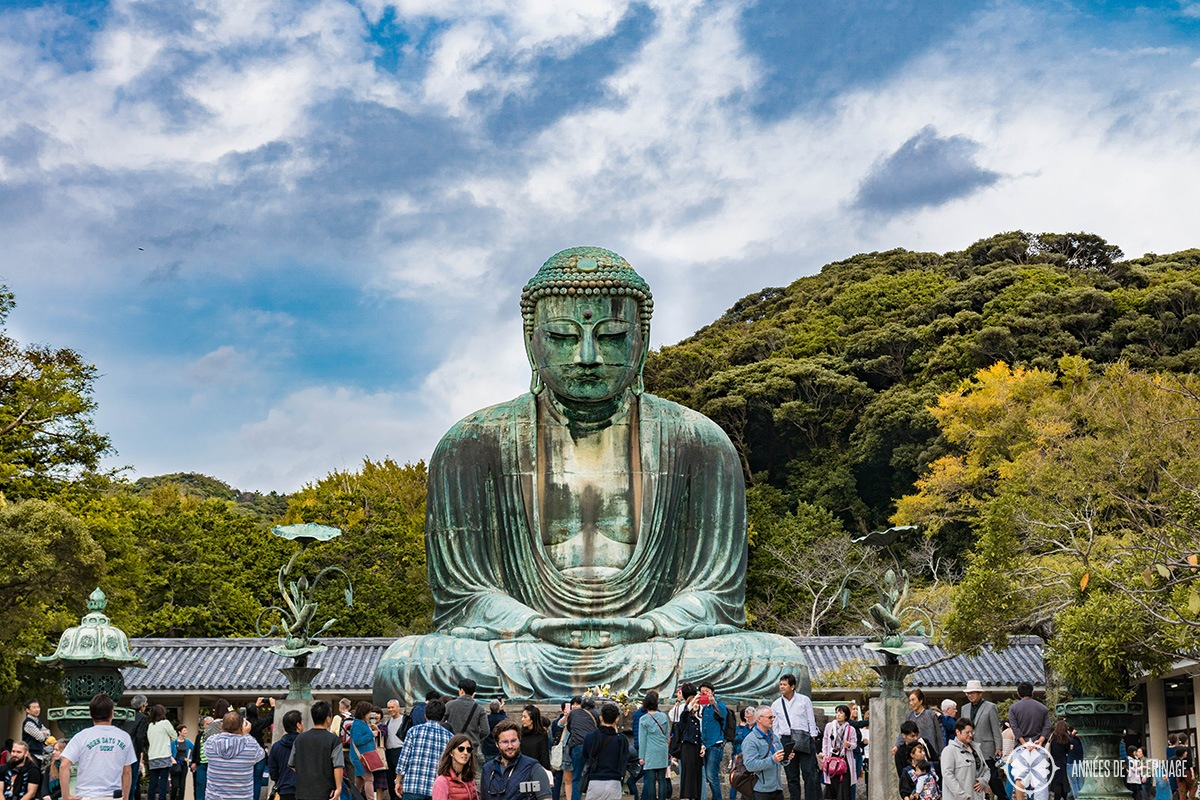 The great Buddha of Kamakura, goes by the japanese name Daibutsu, and is one